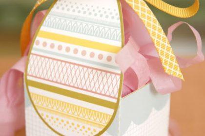 Como fazer Caixa Páscoa – Molde