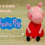 Como fazer Peppa Pig de biscuit – Passo a Passo