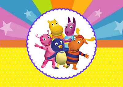 Backyardigans -tubete
