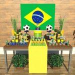 Brasil – Copa do Mundo – Decoração – Sugestões