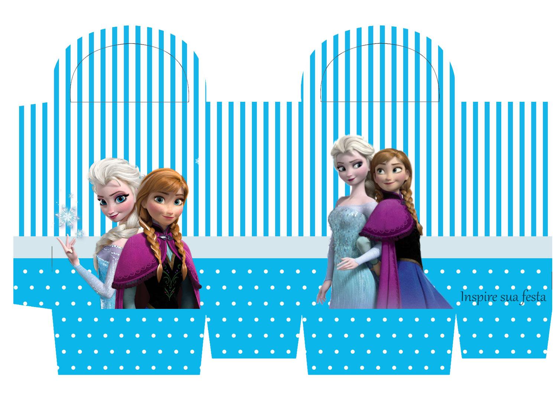 Populares Frozen – Kit festa infantil grátis para imprimir – Inspire sua Festa ® TO96