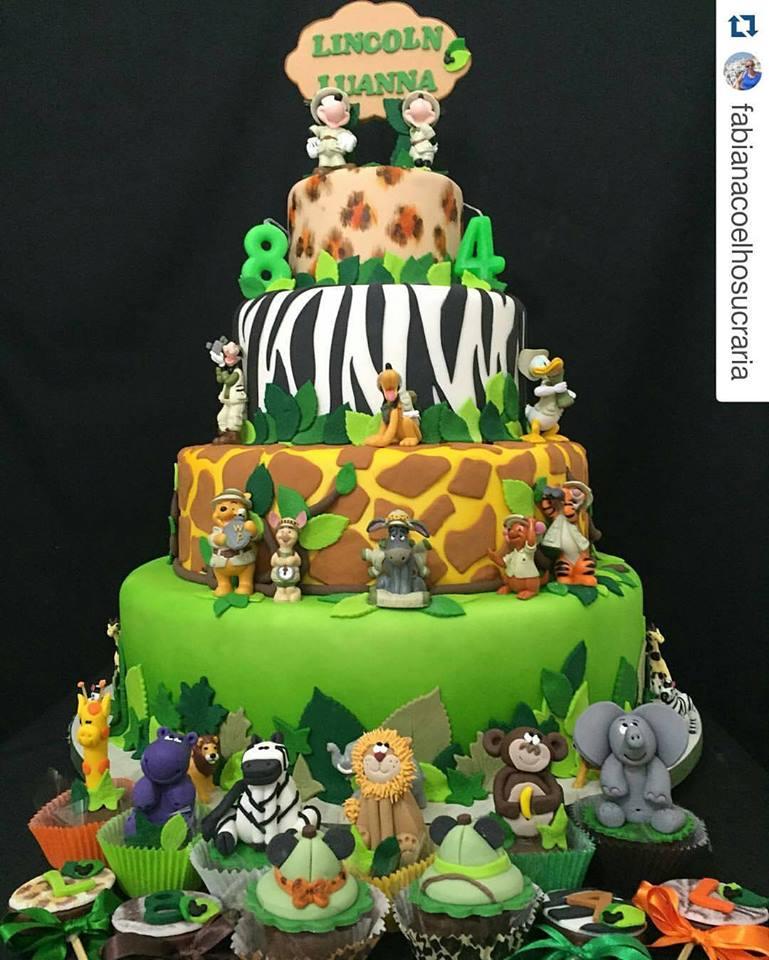 Well-known Festa Infantil Safari do Mickey – Dicas de decoração, bolos e  AH69
