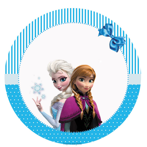 frozen kit festa infantil grátis para imprimir inspire sua festa