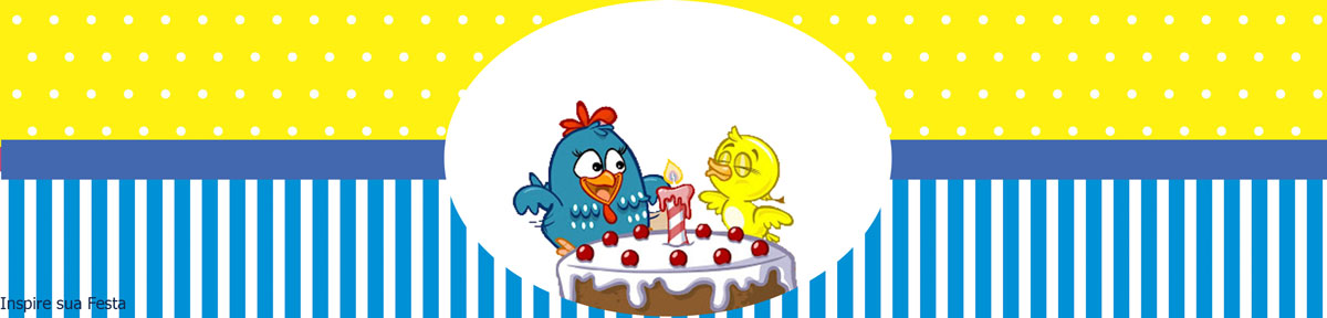 decoracao galinha pintadinha azul e amarelo:Tamanhos de impressão de cada arte no blog Inspire sua festa, clique