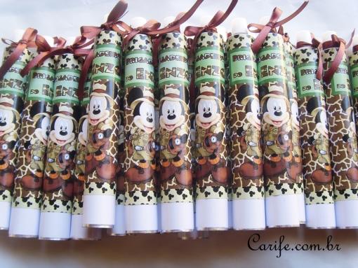 bisnaga brigadeiro_tema_safari do Mickey