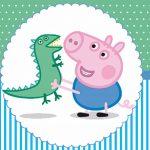 George Pig – Kit festa infantil grátis para imprimir