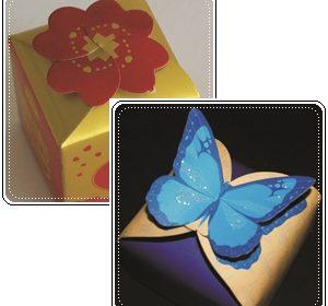 Como fazer caixa para lembrancinha – Molde
