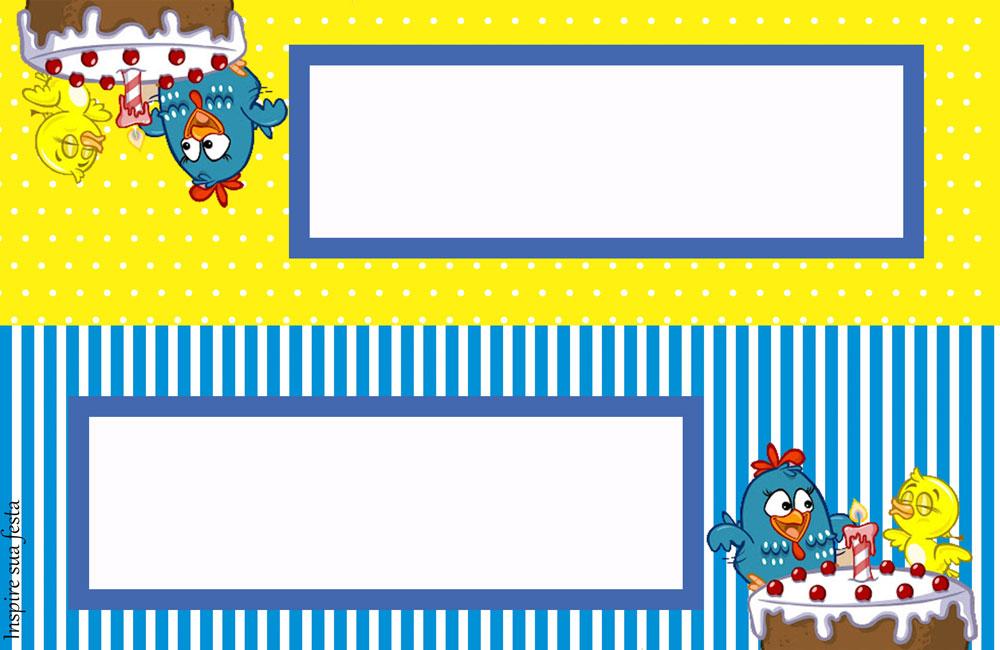 decoracao galinha pintadinha azul e amarelo:Kit digital gratuito – Galinha Pintadinha azul e amarelo – Blog