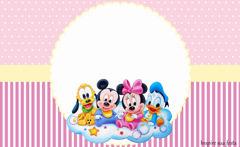 Disney Baby Meninas – Artes personalizadas gratuitas