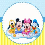 Disney Baby Meninos – Kit digital gratuito