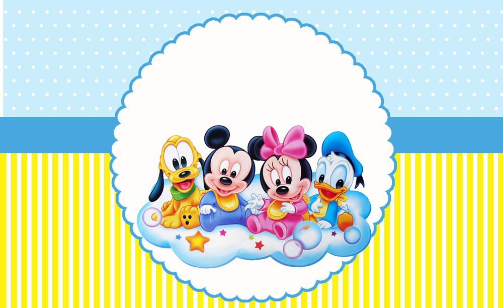 Disney Baby Meninos – Kit digital gratuito