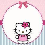 Hello Kitty – Kit festa infantil grátis para imprimir