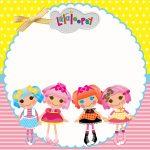Lalaloopsy – Kit festa infantil grátis para imprimir