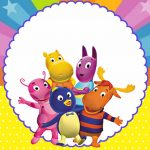 Backyardigans – Kit festa infantil grátis para imprimir