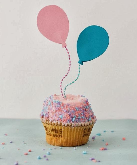 Como fazer Topper de balões para Cupcakes