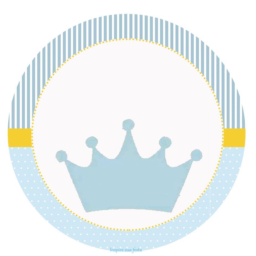 Armario Oriental Barato ~ Príncipe Coroa Azul u2013 Kit festa grátis para imprimir u2013 Inspire sua Festa