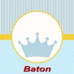 Príncipe Coroa Azul – Kit festa grátis para imprimir