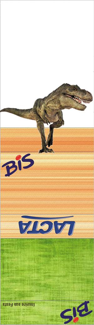 bis-duplo-personalizado-gratuito dinossauros