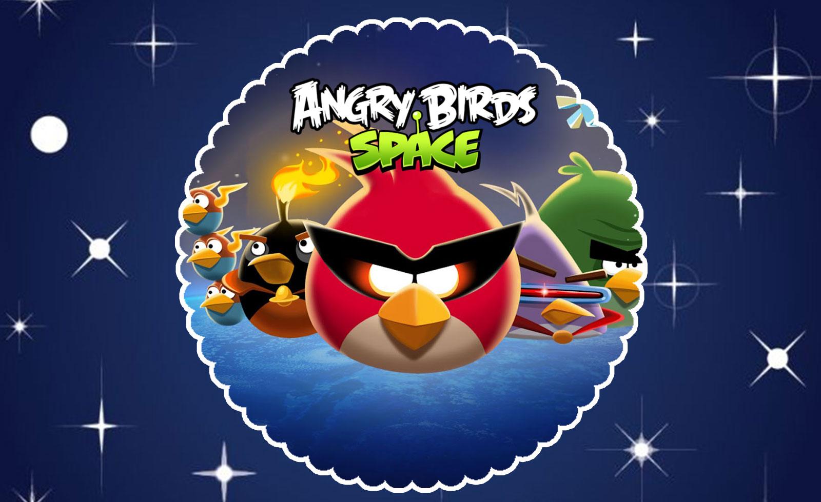 Angry Birds Space – Kit festa grátis para imprimir
