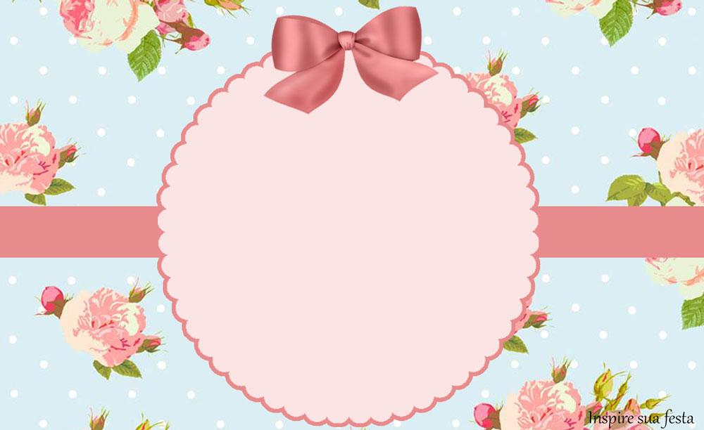Floral – Kit festa grátis para imprimir