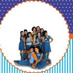 Chiquititas – Kit festa infantil grátis para imprimir