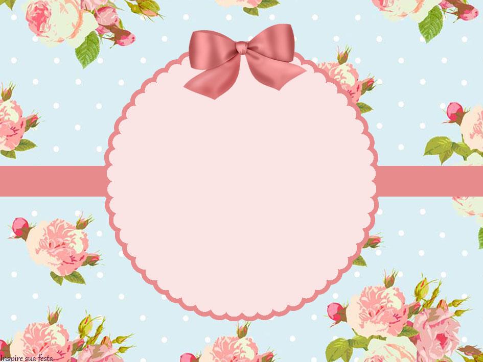 Floral – Kit festa grátis para imprimir – Inspire sua Festa ®