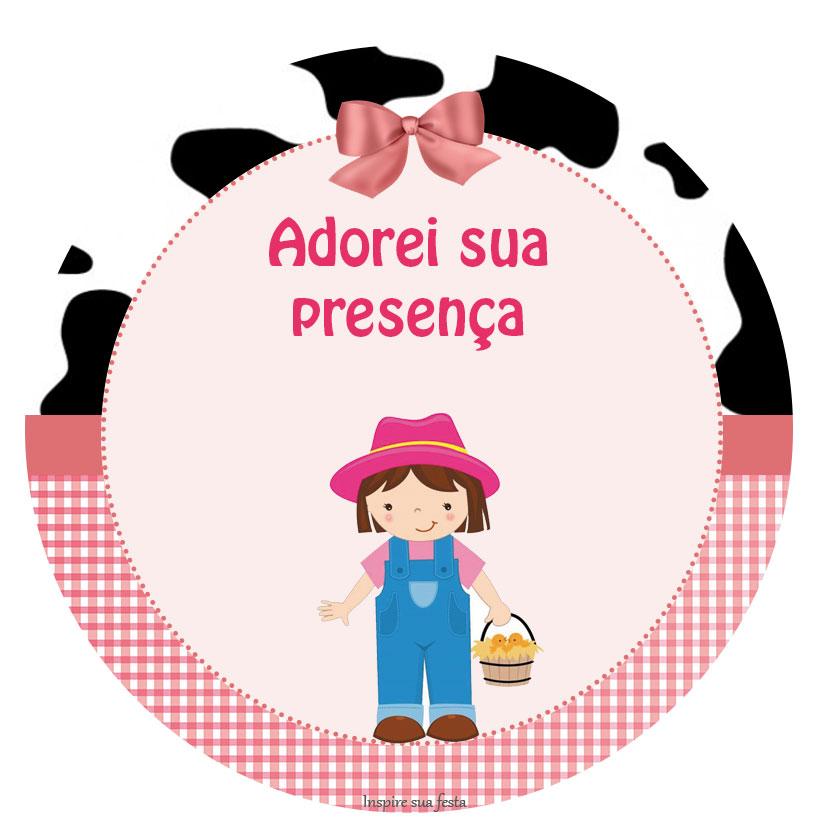 Muitas vezes Fazendinha rosa – Kit digital gratuito – Inspire sua Festa ® AM25