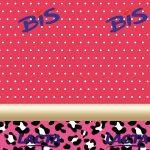 Oncinha com rosa e Poá – Kit festa grátis para imprimir