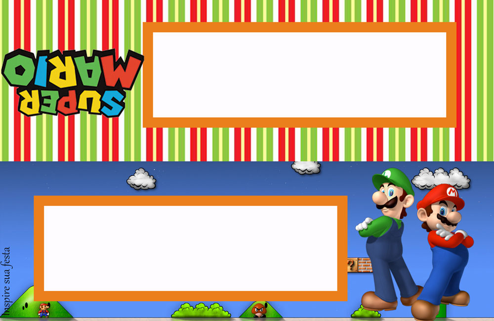 Mario Bros Kit Digital Gratuito on Mario Bros Imagens Para Colorir