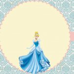 Cinderela – Kit festa grátis para imprimir