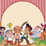 Jake o Piratas – Kit festa infantil grátis para imprimir