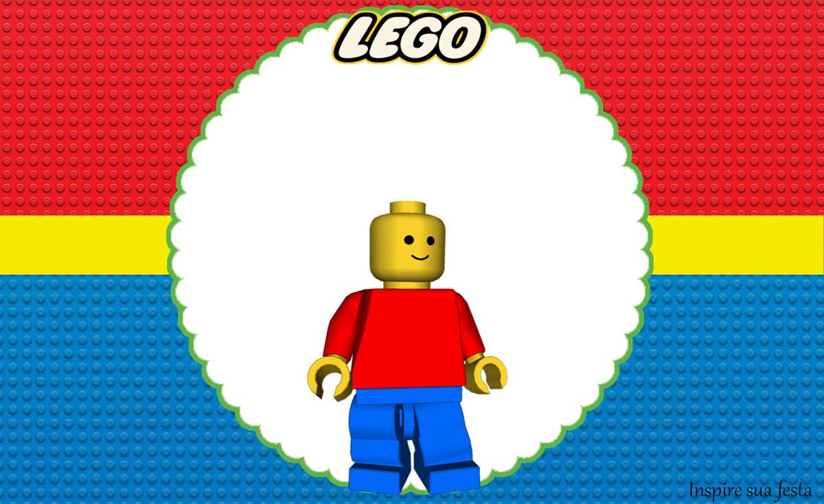 Lego – Kit festa infantil grátis para imprimir