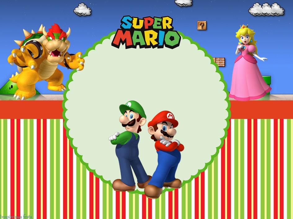 Mario Bros – Kit festa grátis para imprimir – Inspire sua ...