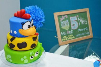 Decoração Festa Infantil Mesversário Galinha Pintadinha