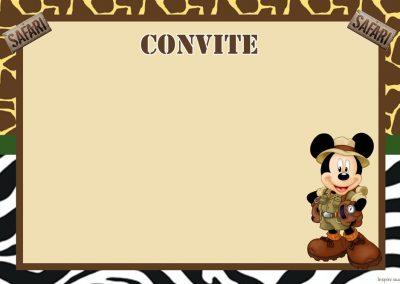 Convite-mickey-safari