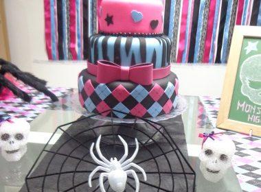 Decoração Festa Infantil Mesversário Monster High