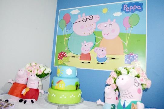 Decoração Festa Infantil Mesversário Peppa Pig