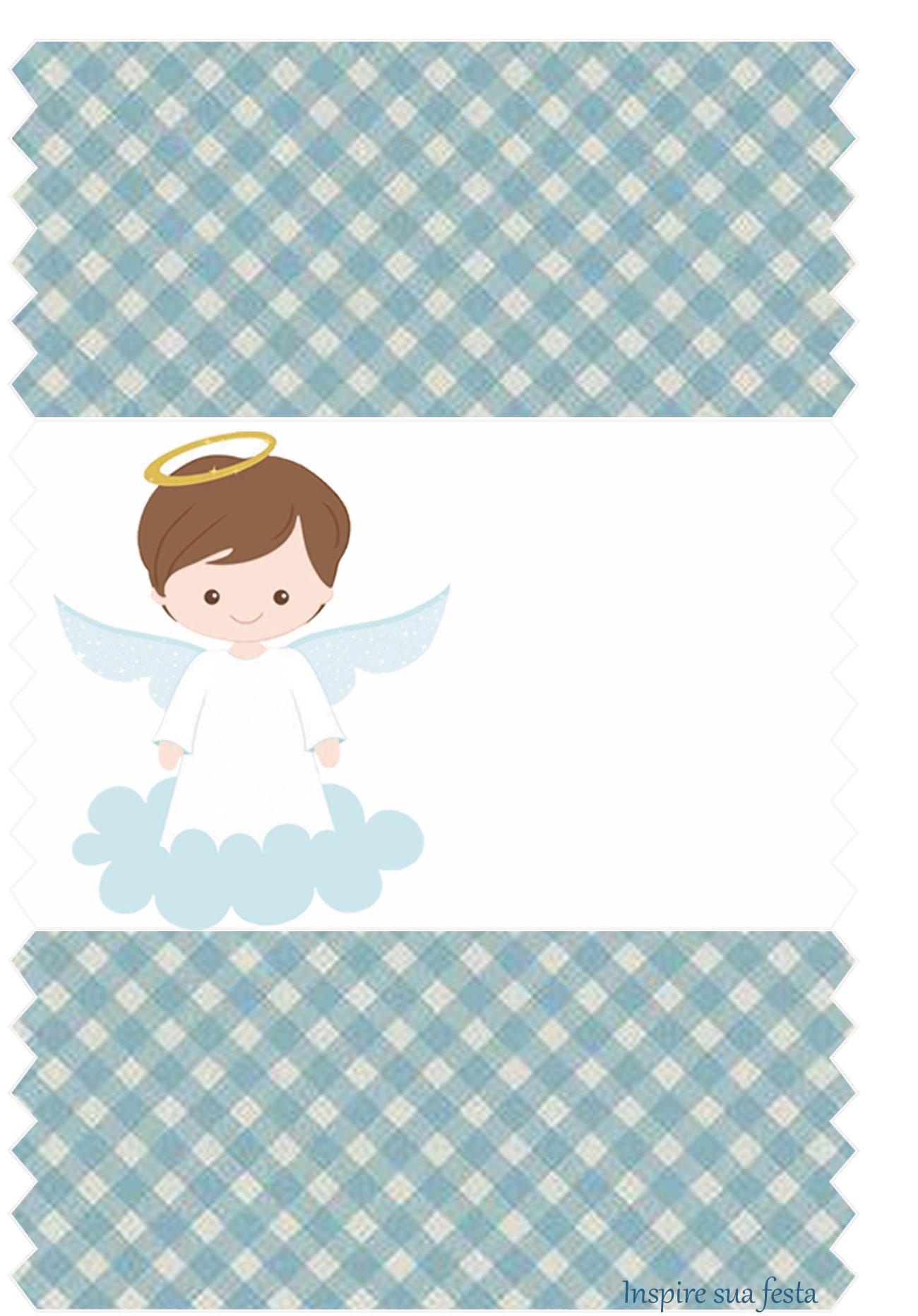 Batizado menino kit festa gr tis para imprimir inspire for O rapaz a porta