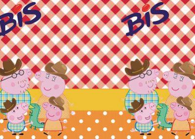 bis-duplo-sem-display-personalizado-peppa-pig-na-fazenda