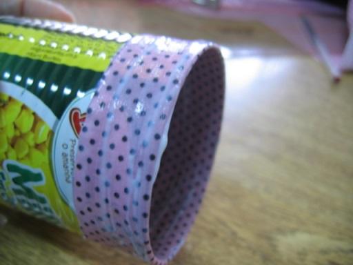 lata decorada com tecido 3