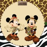 Mickey e Minnie Safari – Kit digital gratuito