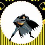 Batman – Kit festa grátis para imprimir