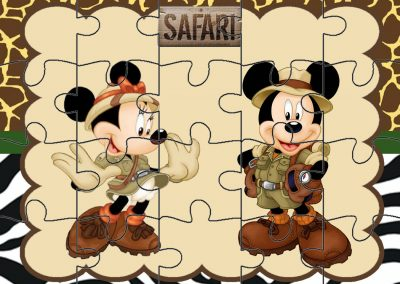 quebra-cabeca mickey safari