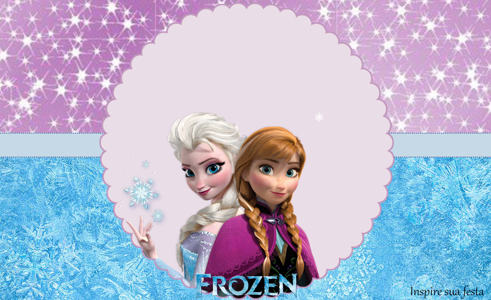 Frozen Kit 2 – Kit festa grátis para imprimir
