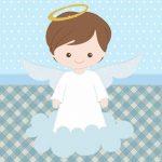 Batizado Menino – Kit festa grátis para imprimir