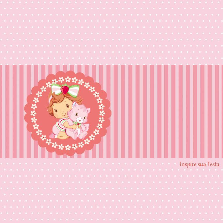 Caixa Surpresa de Aniversário Moranguinho Baby 08 unidades