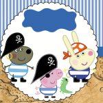 George Pig Pirata – Kit festa grátis para imprimir