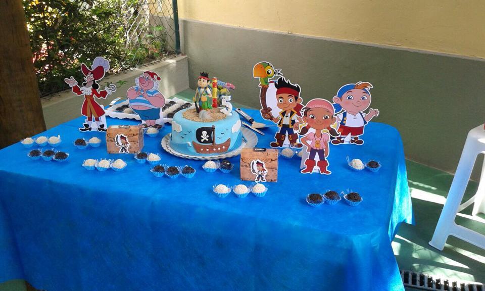 Decoração Festa Infantil Pirata Jake
