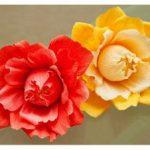 Como fazer Flor com bombom dentro – Passo a passo