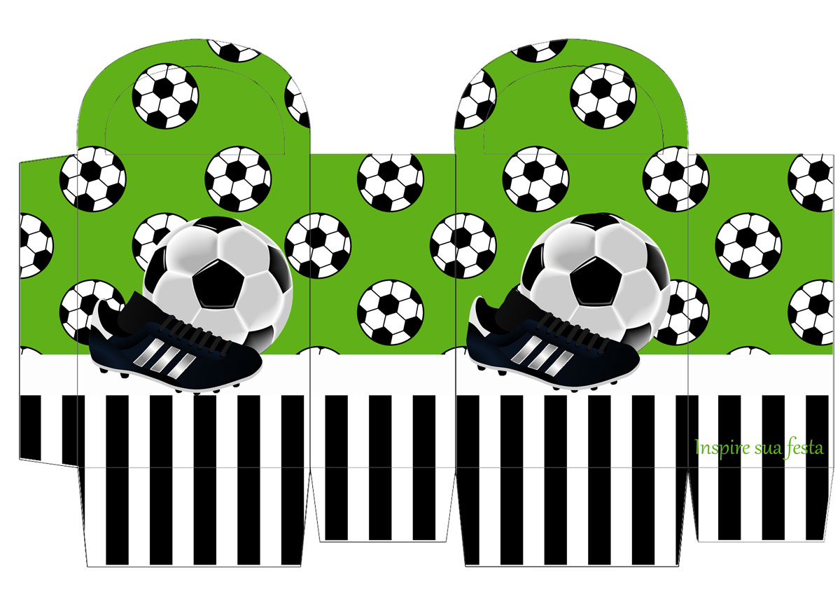 Sacolinha personalizada Futebol